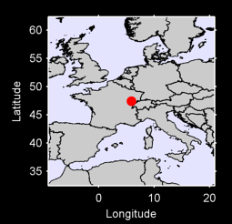 47.42 N, 5.92 E Local Context Map