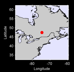 47.42 N, 74.61 W Local Context Map