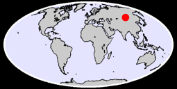49.03 N, 102.86 E Global Context Map