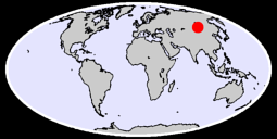 49.03 N, 105.31 E Global Context Map