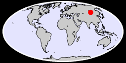 49.03 N, 107.76 E Global Context Map