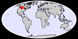 49.03 N, 107.76 W Global Context Map