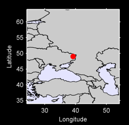 49.03 N, 39.18 E Local Context Map