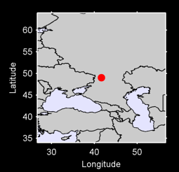49.03 N, 41.63 E Local Context Map