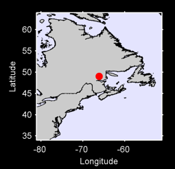 49.03 N, 66.12 W Local Context Map