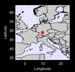 49.03 N, 9.80 E Local Context Map