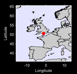 50.63 N, 1.27 W Local Context Map