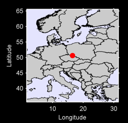 50.63 N, 16.48 E Local Context Map
