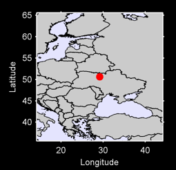 50.63 N, 29.15 E Local Context Map