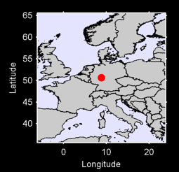 50.63 N, 8.87 E Local Context Map