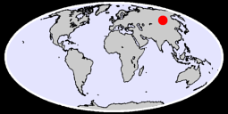 52.24 N, 110.36 E Global Context Map