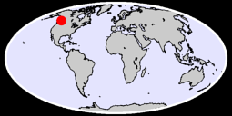 52.24 N, 120.88 W Global Context Map