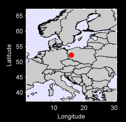 52.24 N, 15.77 E Local Context Map