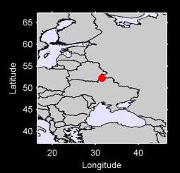 52.24 N, 31.53 E Local Context Map
