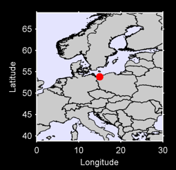 53.84 N, 15.00 E Local Context Map