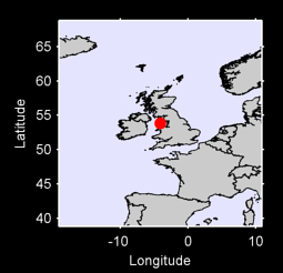 53.84 N, 4.09 W Local Context Map