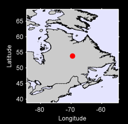 53.84 N, 69.55 W Local Context Map