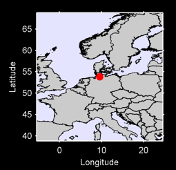53.84 N, 9.55 E Local Context Map