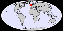 55.45 N, 5.67 W Global Context Map