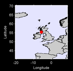 55.45 N, 5.67 W Local Context Map