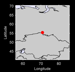 55.45 N, 70.87 E Local Context Map