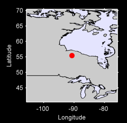 55.45 N, 90.71 W Local Context Map