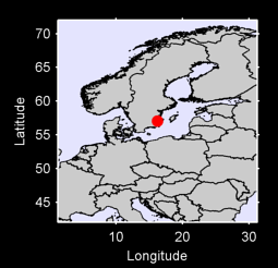 57.05 N, 16.23 E Local Context Map