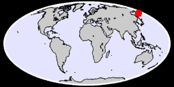 57.05 N, 163.77 E Global Context Map