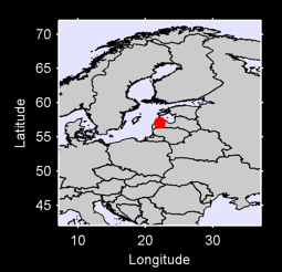 57.05 N, 22.13 E Local Context Map