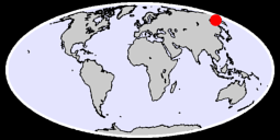 58.66 N, 153.85 E Global Context Map