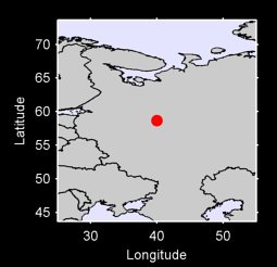 58.66 N, 40.00 E Local Context Map