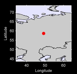 58.66 N, 49.23 E Local Context Map