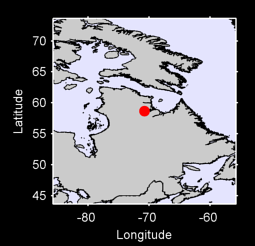 58.66 N, 70.77 W Local Context Map