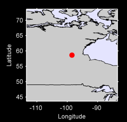 58.66 N, 98.46 W Local Context Map