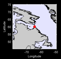 60.27 N, 64.86 W Local Context Map