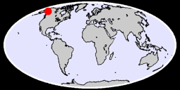 61.88 N, 140.94 W Global Context Map