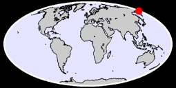 61.88 N, 174.91 E Global Context Map