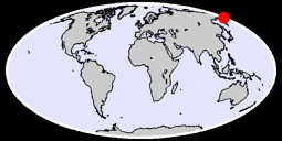 61.88 N, 178.30 E Global Context Map