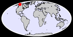 63.49 N, 142.20 W Global Context Map