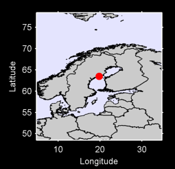 63.49 N, 19.80 E Local Context Map