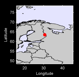 63.49 N, 30.60 E Local Context Map