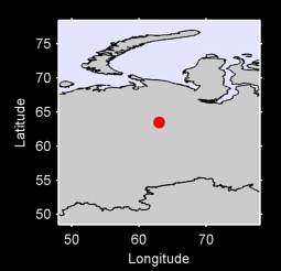 63.49 N, 63.00 E Local Context Map