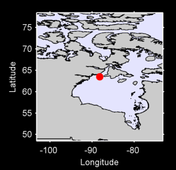 63.49 N, 88.20 W Local Context Map