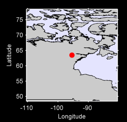 63.49 N, 95.40 W Local Context Map