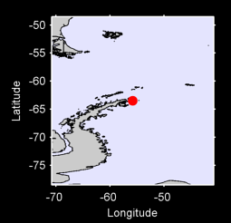 63.49 S, 55.80 W Local Context Map