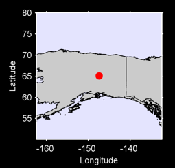 65.09 N, 147.45 W Local Context Map