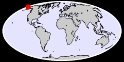 65.09 N, 178.09 W Global Context Map