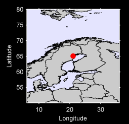 65.09 N, 21.06 E Local Context Map