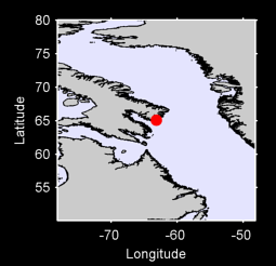 65.09 N, 63.19 W Local Context Map