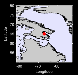 65.09 N, 67.02 W Local Context Map